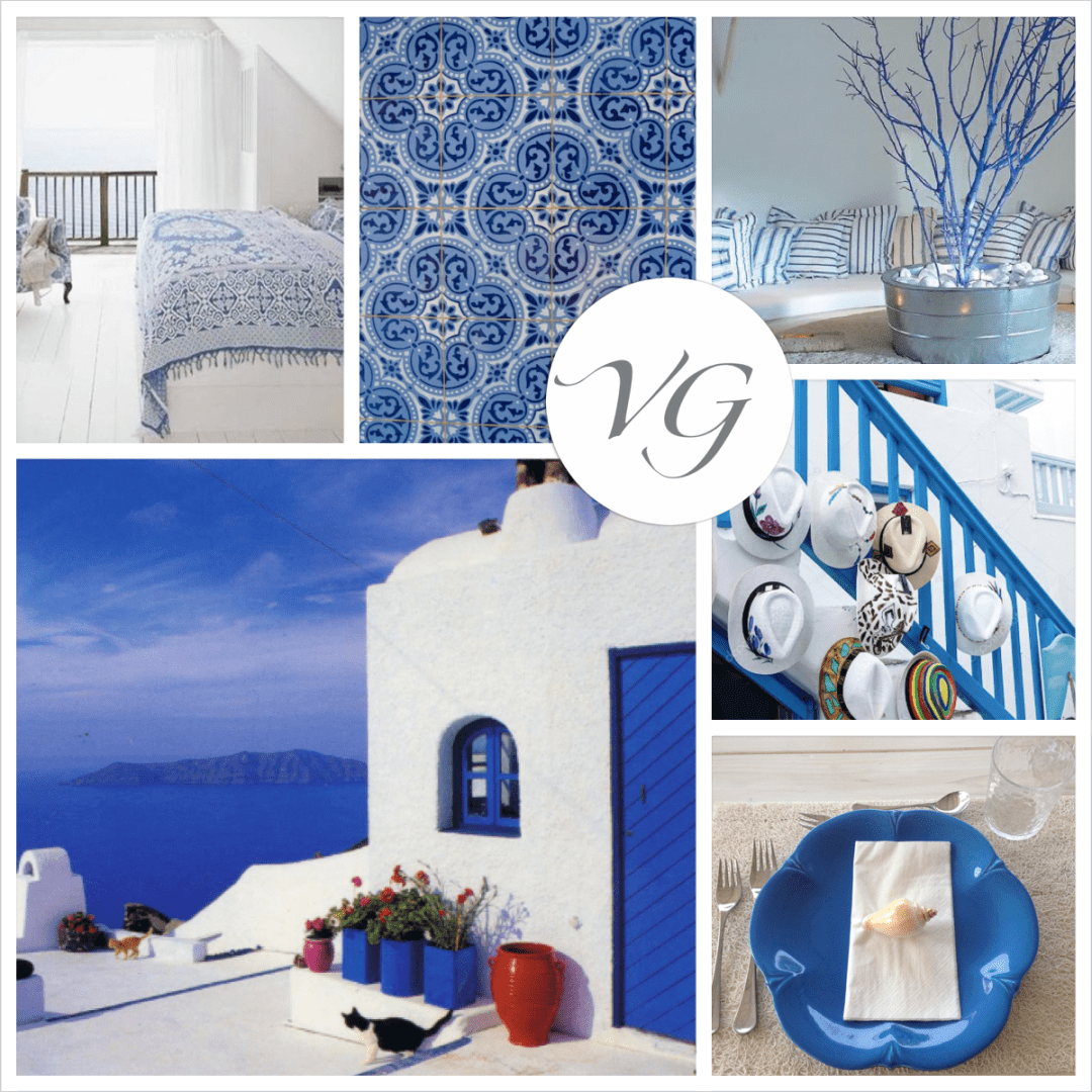 Blue inspiration: Decor and live your summer at the sea