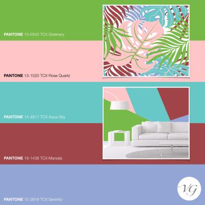 Palette Pantone 2017: giocando con le Palette di stagione