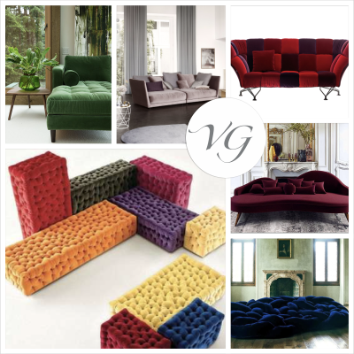 Velvet: from runway to home decor, it's Velvet Style!