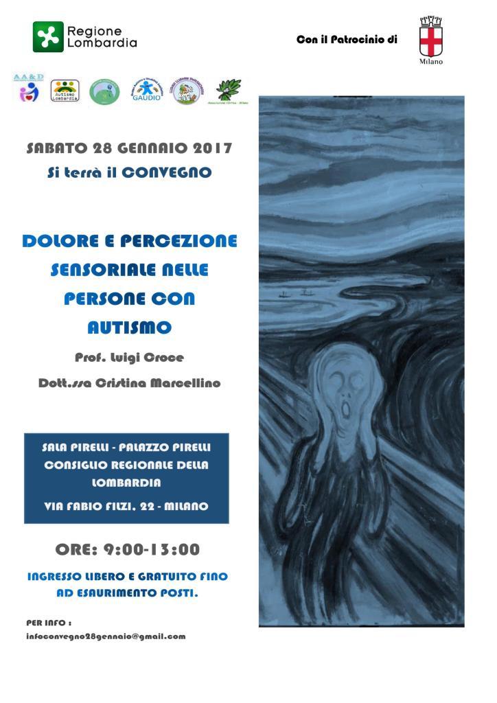 Volantino Convegno Milano 28 Gennaio