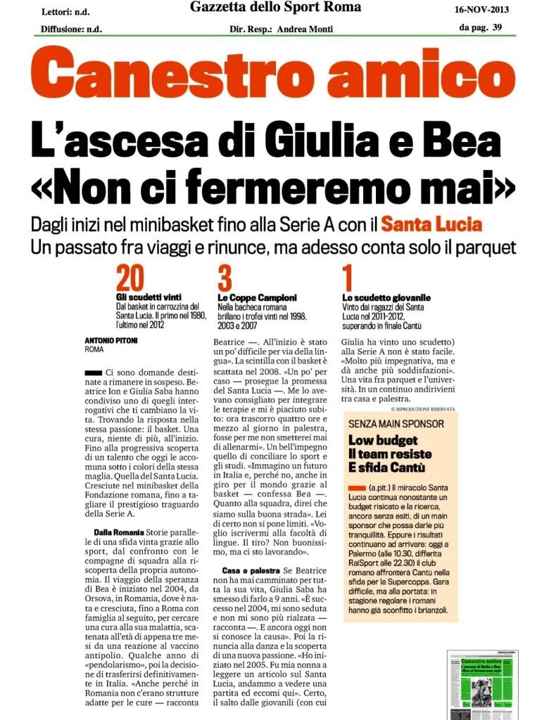 ascesa di Giulia e Bea