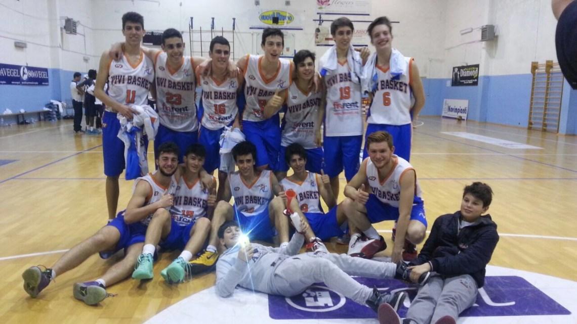 Under 17 Ecc.: I Blu di Vivi Basket espugnano Francavilla