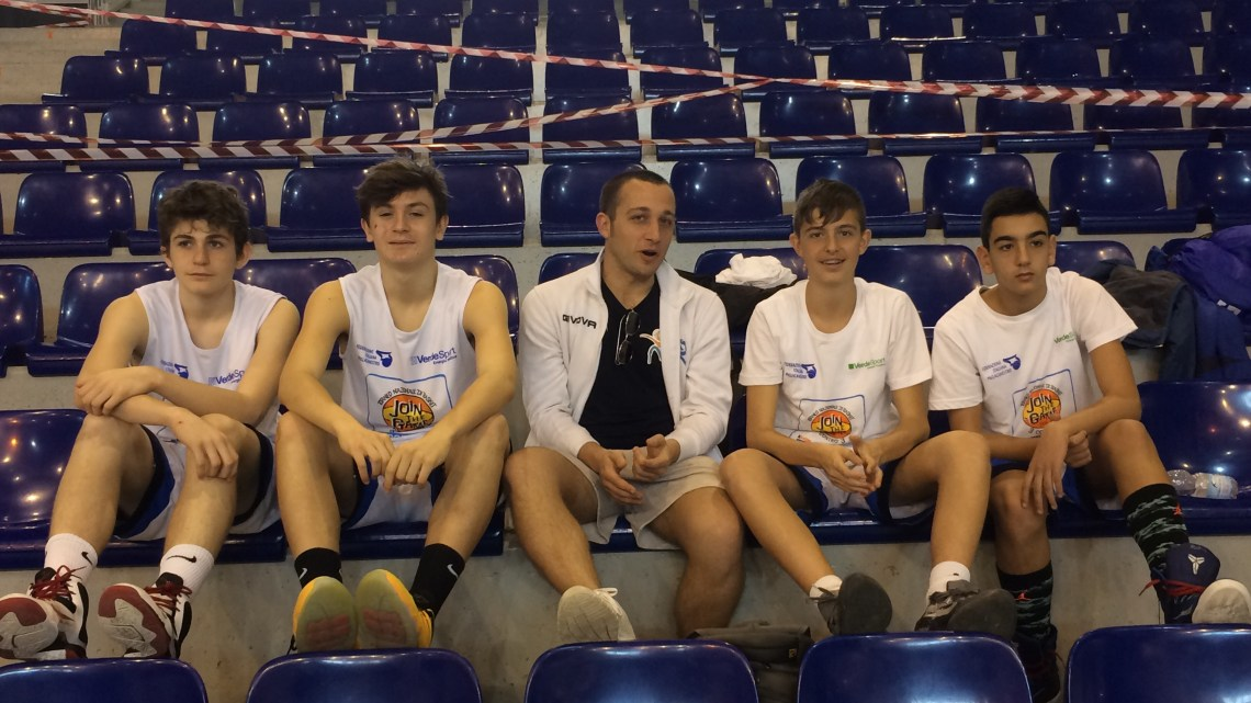 Join The Game under 14: Terzi nel girone dei quarti, bravi ragazzi!