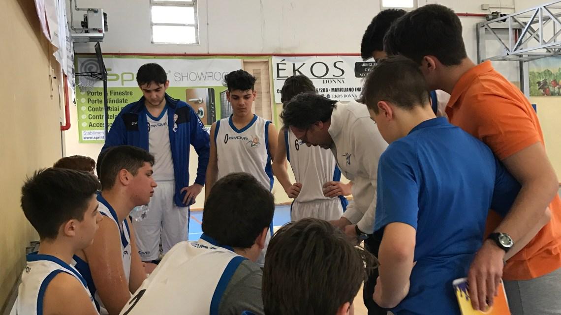 Under 14 Elite: Vivi Basket travolgente a Marigliano