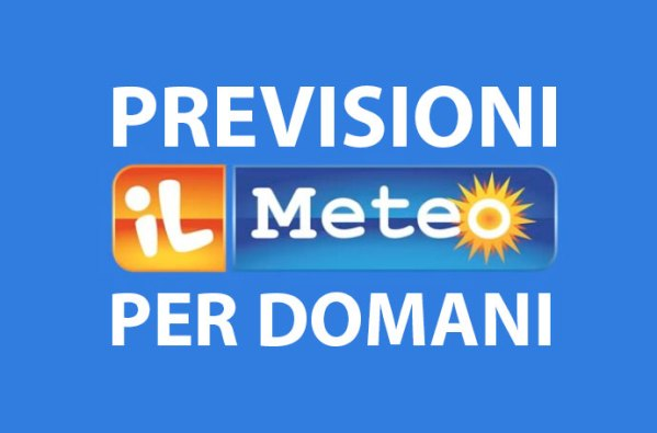 %name previsioni video meteo domani