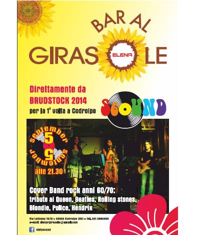 10403663 816139688404974 714979663842900854 n 08.09.2014   Concerto cover band rock anni 60/70 Al Girasole