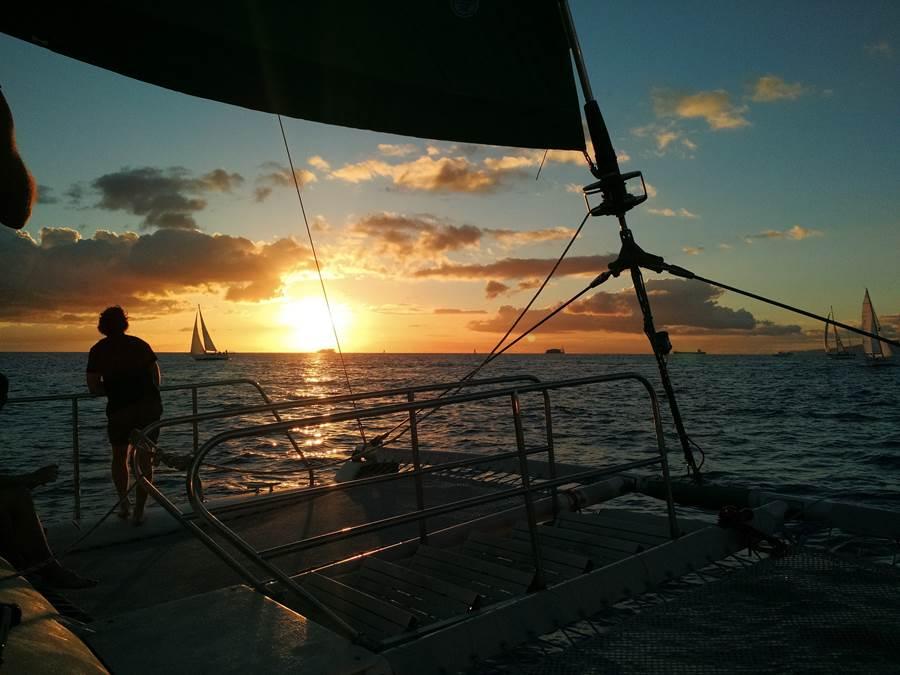 Pôr do Sol Catamarã