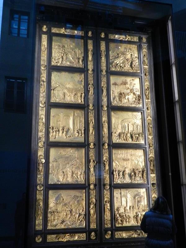 Porta ouro Museudell'Opera del Duomo