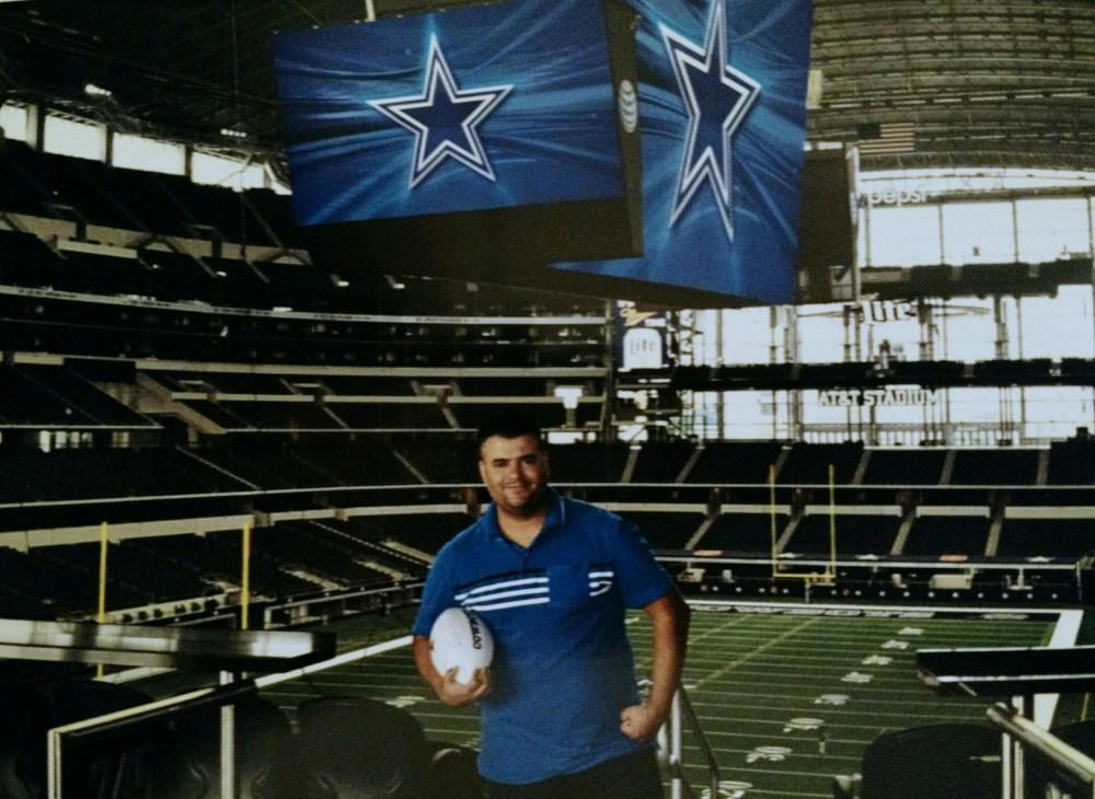 Foto oficial AT&T Stadium