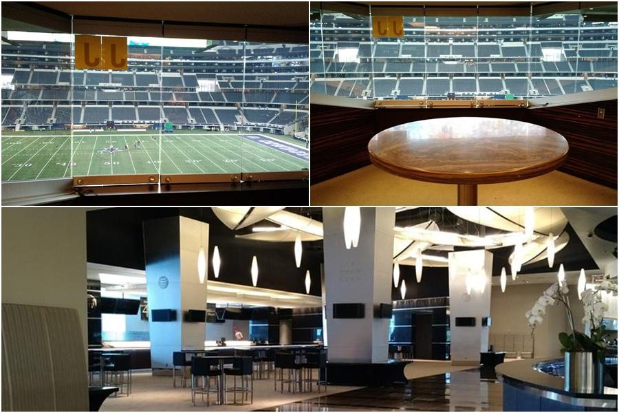 Suítes AT&T Stadium Dallas Cowboys