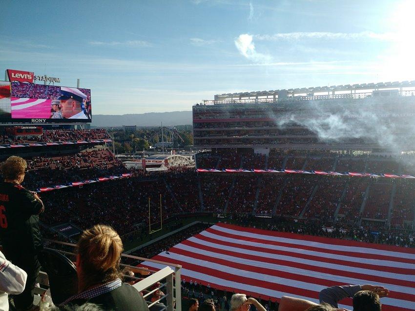 Levi's Stadium Hino Americano