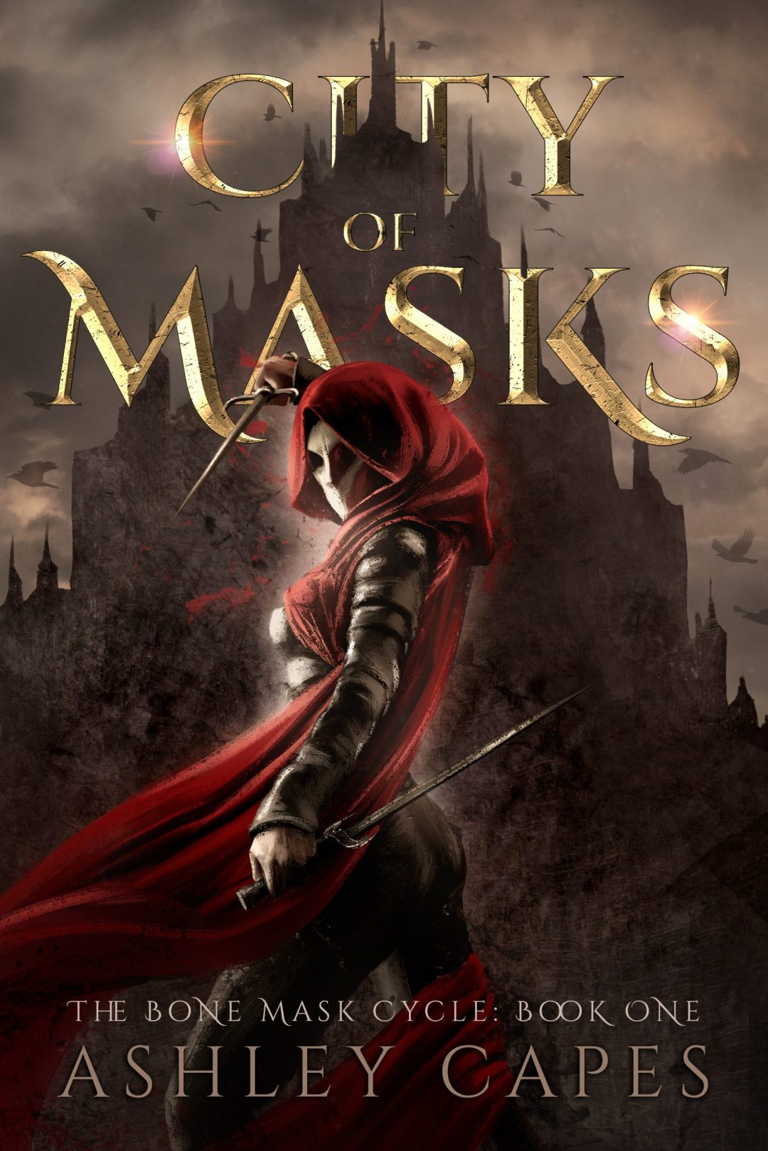 Thumbnail of fantasy novel City of Masks by Ashley Capes