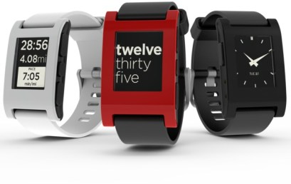 Pebble SmartWatch with Italian Watchface
