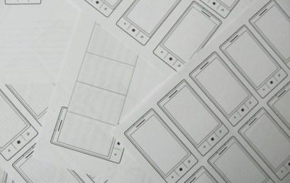Studio dell'UX / UI di una app Windows Phone