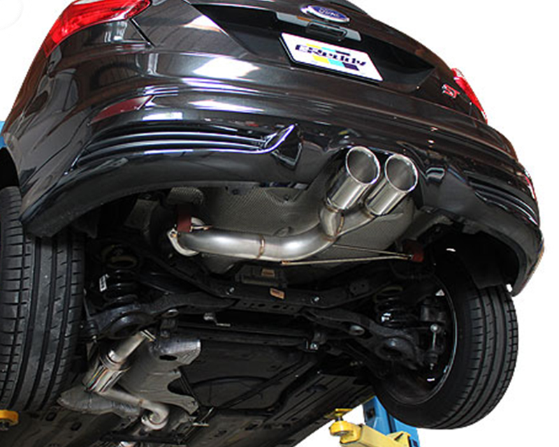 greddy supreme sp exhaust ford focus st 2013 2016