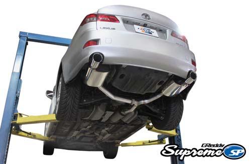 greddy supreme sp catback exhaust lexus is250 is350 2006 2013