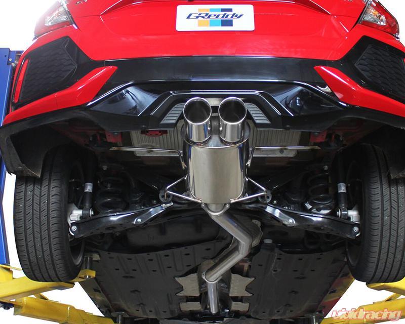 greddy supreme sp exhaust system honda civic sport hb 1 5t 2016 2020
