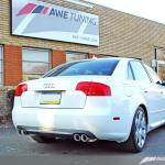 Awe Tuning Touring Edition Quad Tip Exhaust Polished Silver Tips Audi B7 A4 3 2l 06 08 3040 42012