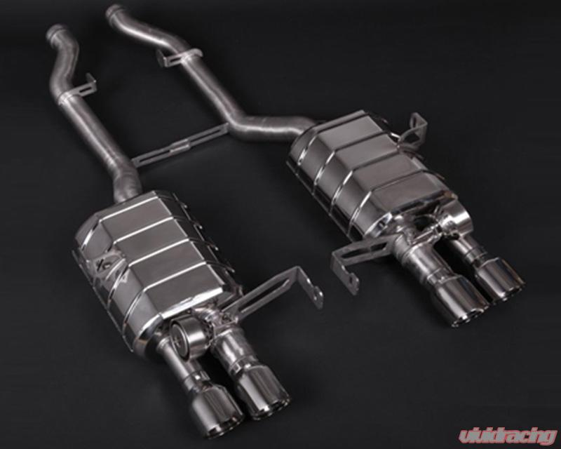 capristo exhaust catback valve exhaust system with remote bmw m3 e92 08 13