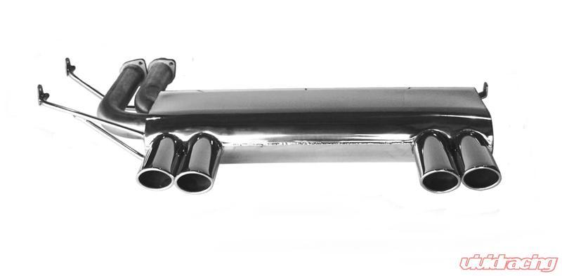 b b axle back exhaust system bmw e46 m3 01 06