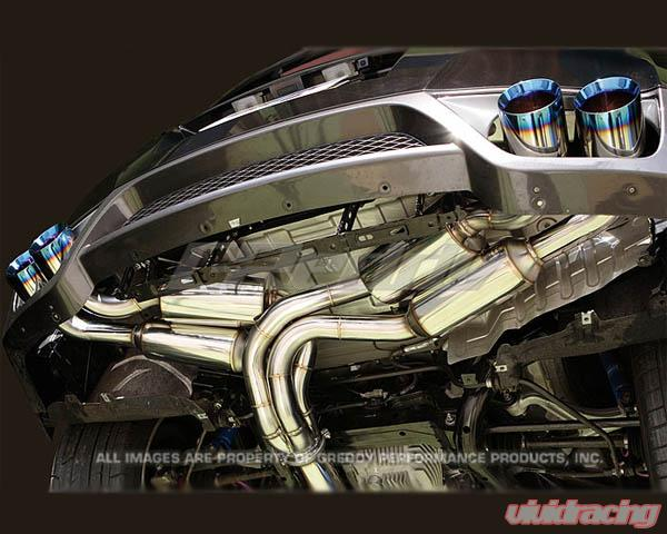 greddy power extreme pe r stainless steel exhaust nissan gt r r35 2009 2021