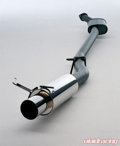 hks hi power exhaust honda civic dx si hatchback 92 95
