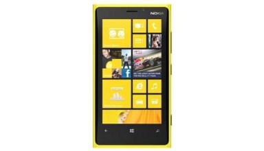 """nokia lumia 920 yellow front"""
