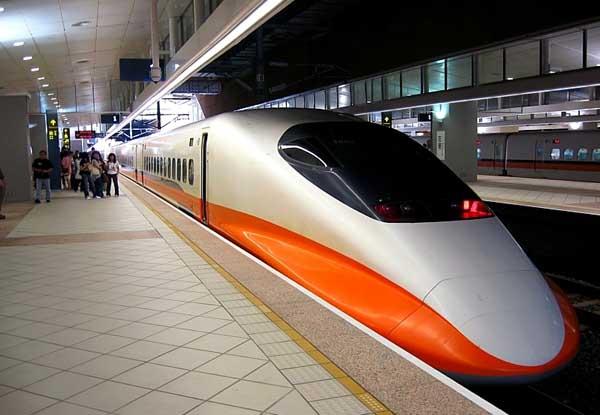 6. THSR 700T, Taiwan: 335.50 km/h (208 mph)