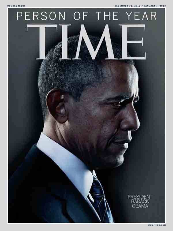 Obama Named Time Magazine's Person of The Year 2012