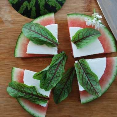 vivie, cacioricotta, watermeloen