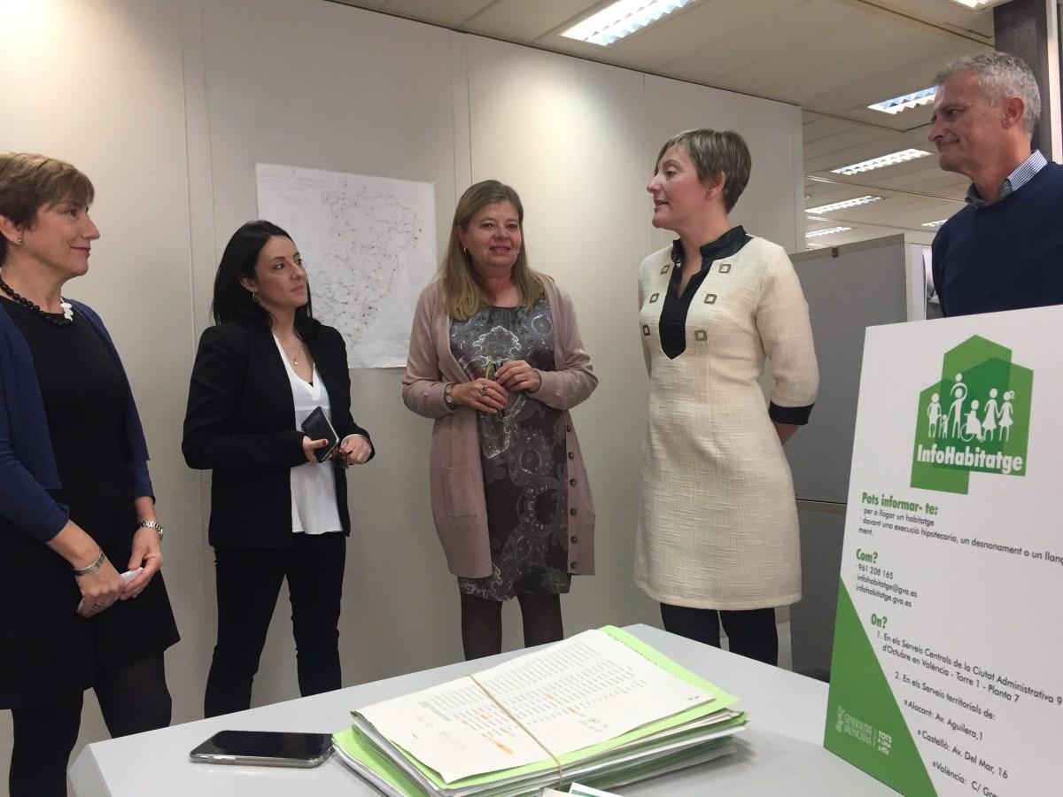 La Generalitat Valenciana activa el registro de demandantes de vivienda en la plataforma InfoHabitatge