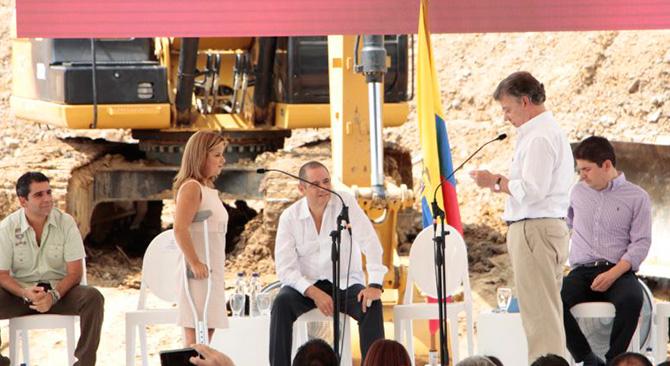 Acto de posesión de Elsa Noguera como nueva Ministra de Vivienda. Foto: Jaime Reyes. MVCT.