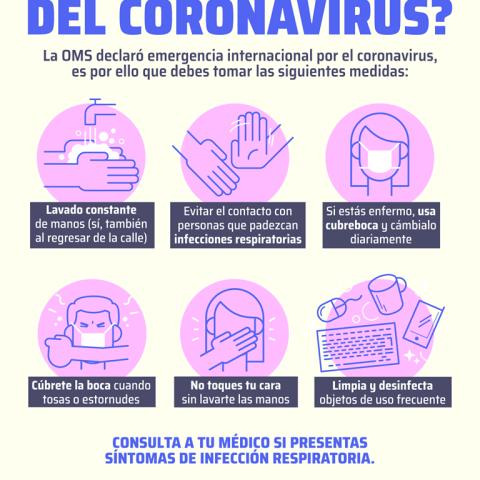 ¿Cómo prevenir el contagio del Coronavirus?