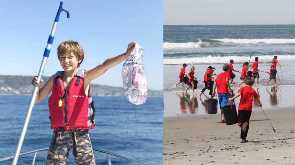 Pequeño de 11 años crea organización para salvar los océanos