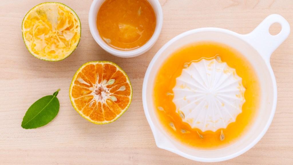 jugo mandarina