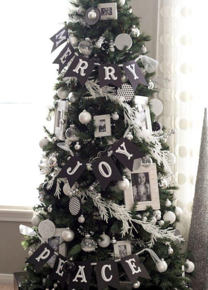 arboles de navidad negros ideas de decoracion