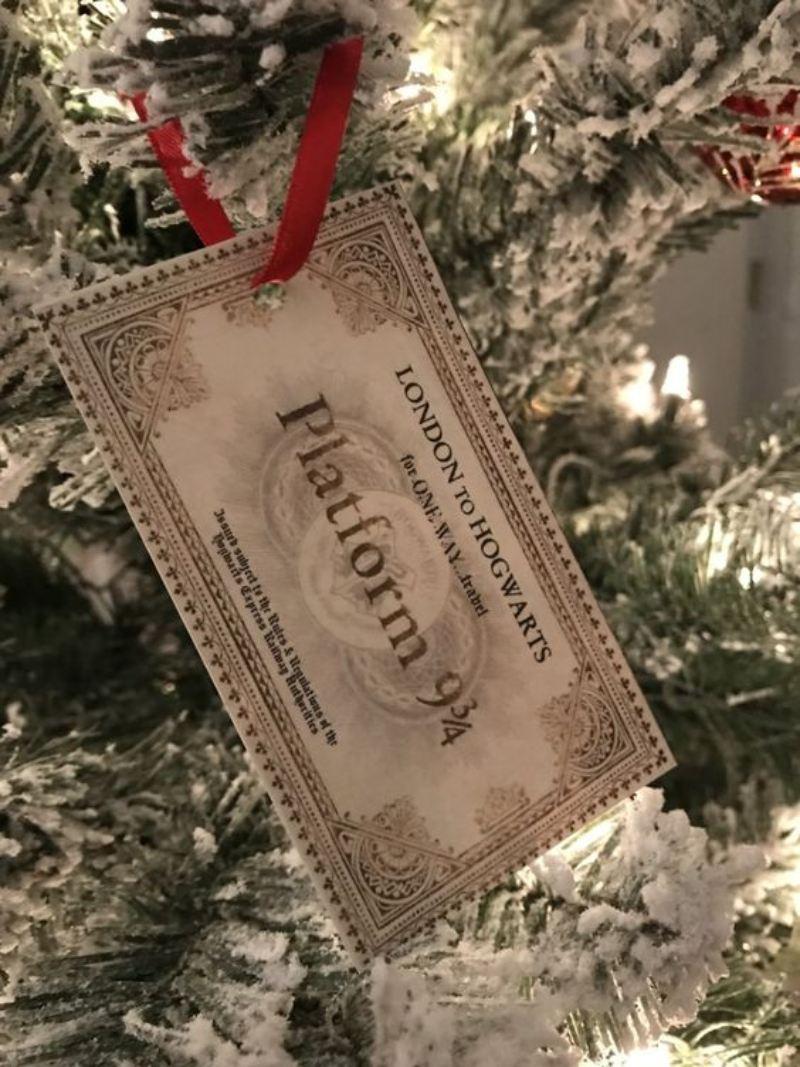 adornos de navidad de harry potter caseros