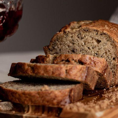como hacer pan de platano saludable sin azucar