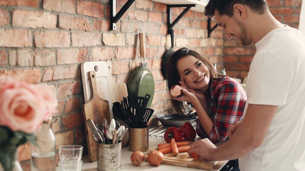 hombres que cocinan son mejores amantes estudio