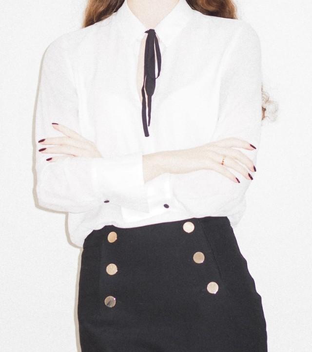 como usar camisa blanca