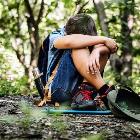 qué debe hacer tu hijo si se pierde