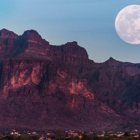 super luna gusanos 2021 fenómenos astronómico