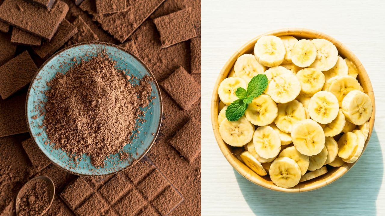 plátano chocolate paletas heladas receta postre