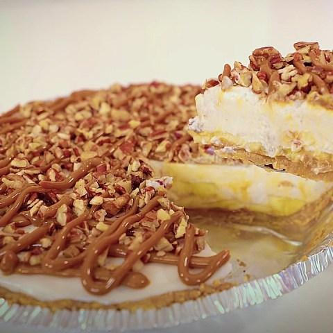 receta pay de plátano fit recetas postres