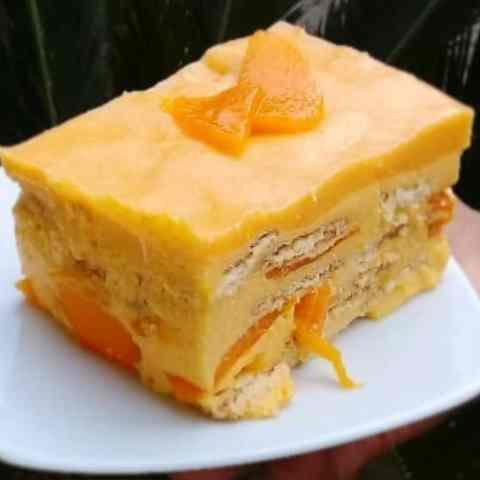 receta de carlota de mango con queso crema como hacer