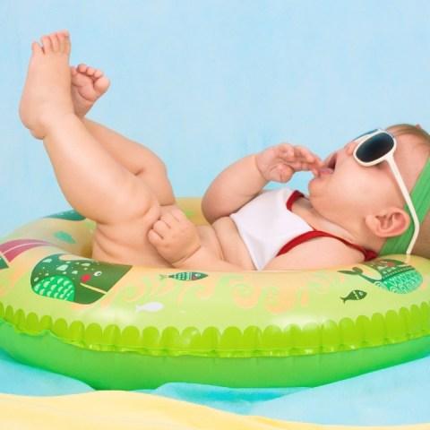 puedo ponerle protector solar a mi bebe