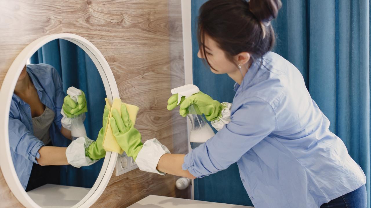limpiar espejos d e la casa remedios caseros