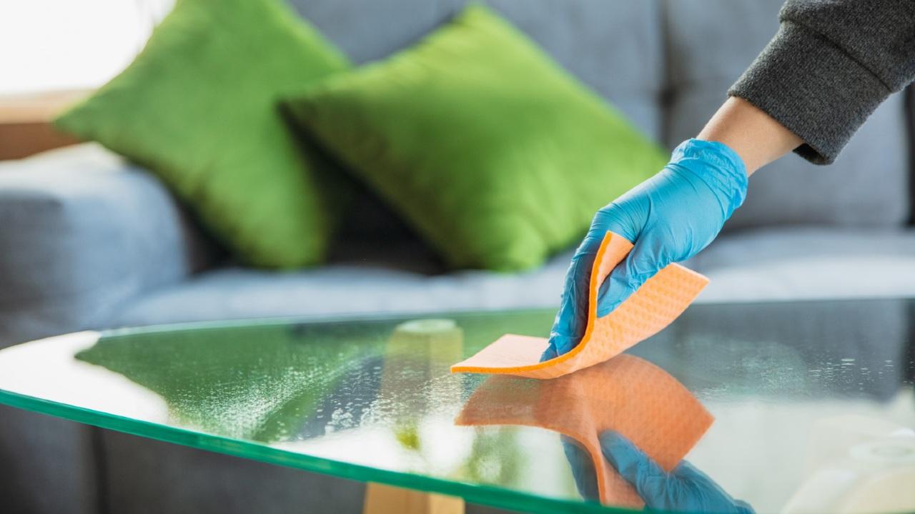 cómo limpiar vidrios espejos casa hogar limpieza