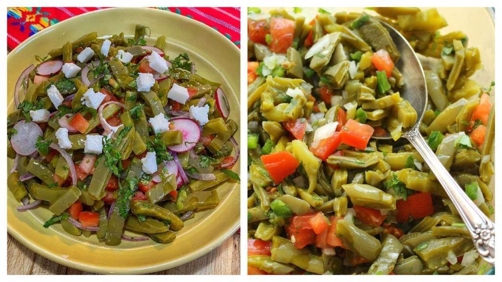 ensalada de nopales como hacer receta mexicana