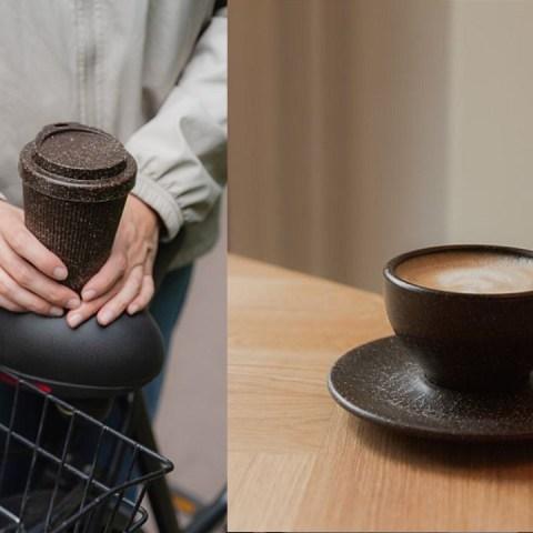 tazas vasos residuos de café idea sustentable